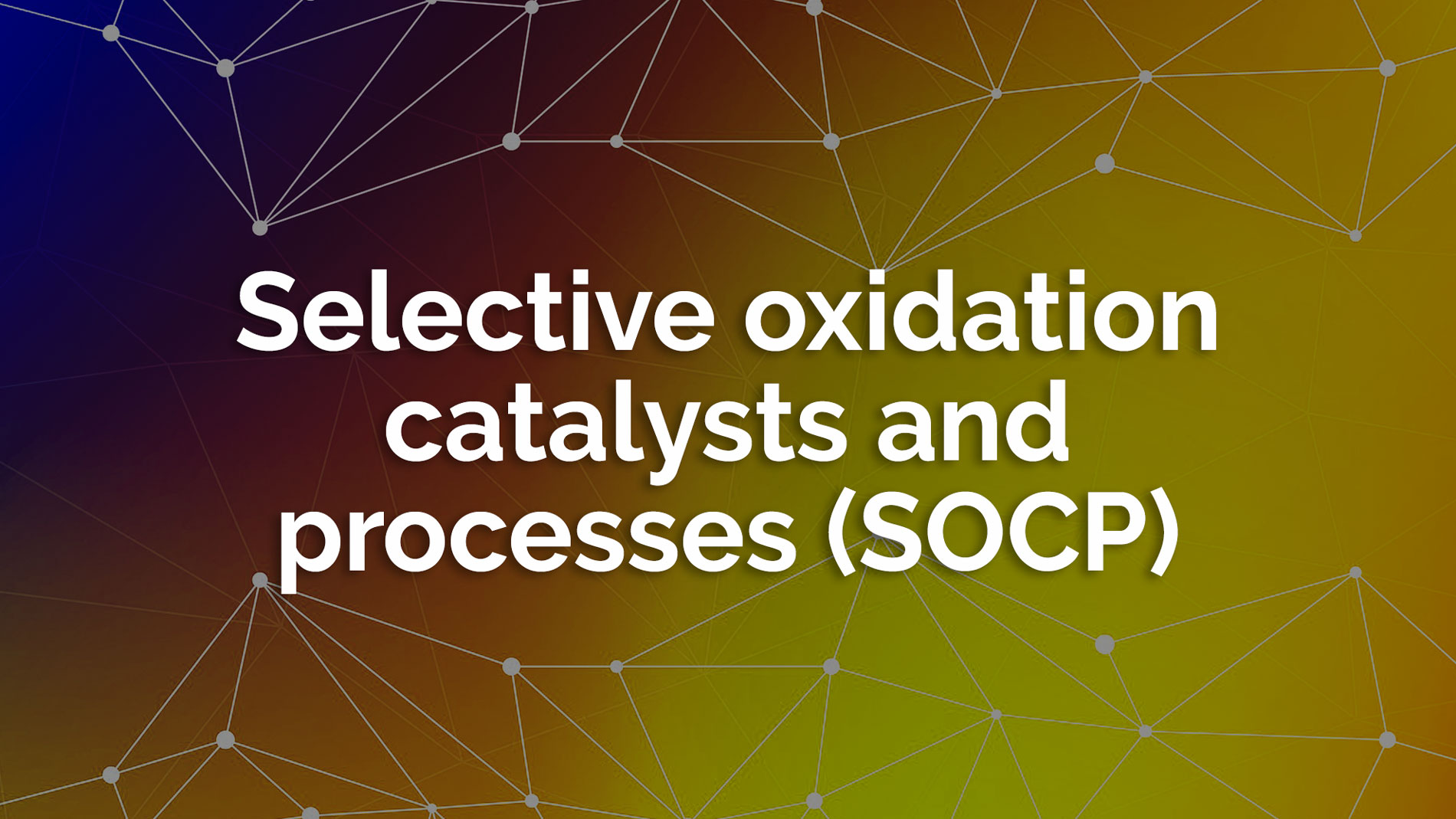 Selective oxidation catalysts processes