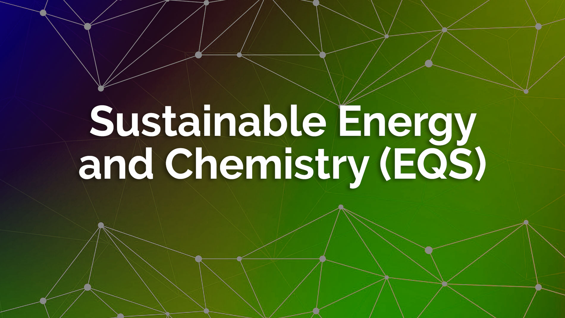 Sustainable Energy Chemistry