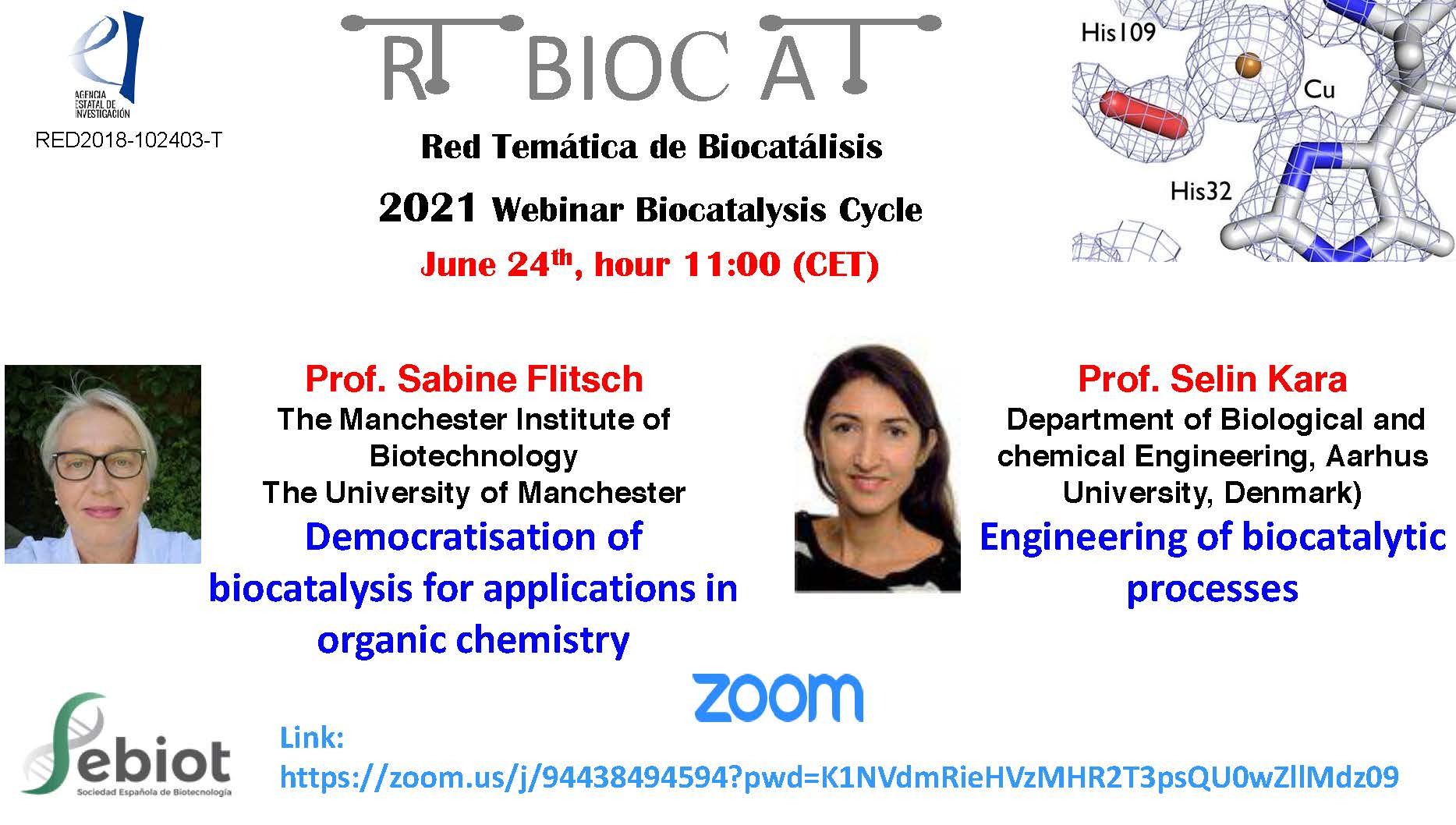 Seminarios Biocatalisis 24 junio 2021